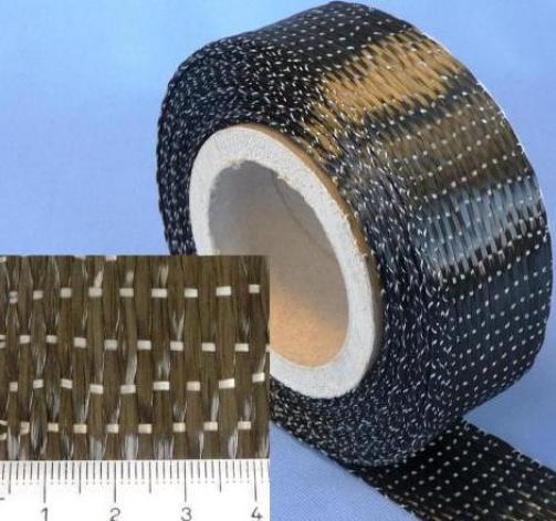 25-lfm-Carbongewebeband-340g-m-Unidirektional-HP-U340C-050-5cm-Modelbau-CfK